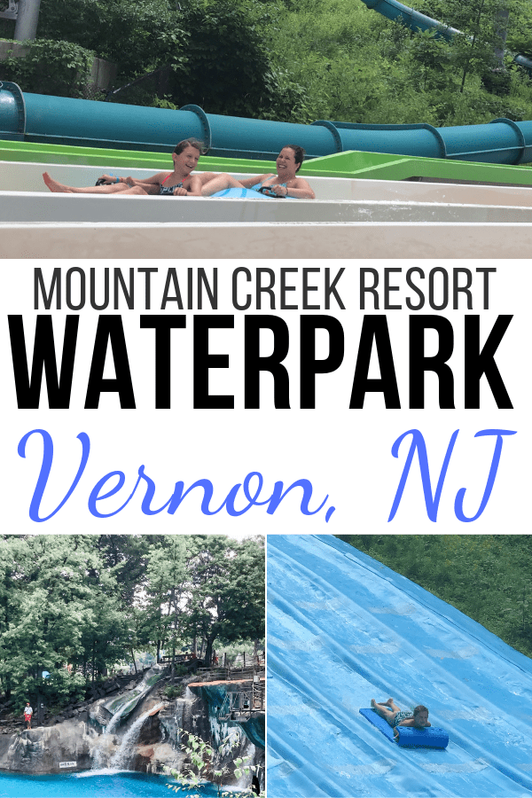 Mountain Creek Waterpark collage.