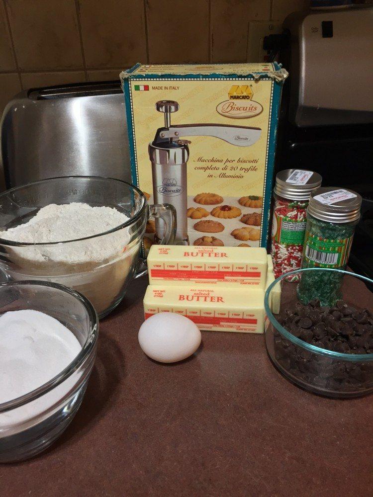 Butter Cookie Ingredients