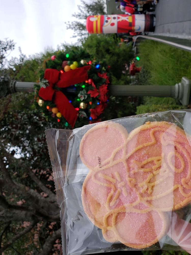 Minnie Holiday Cookie