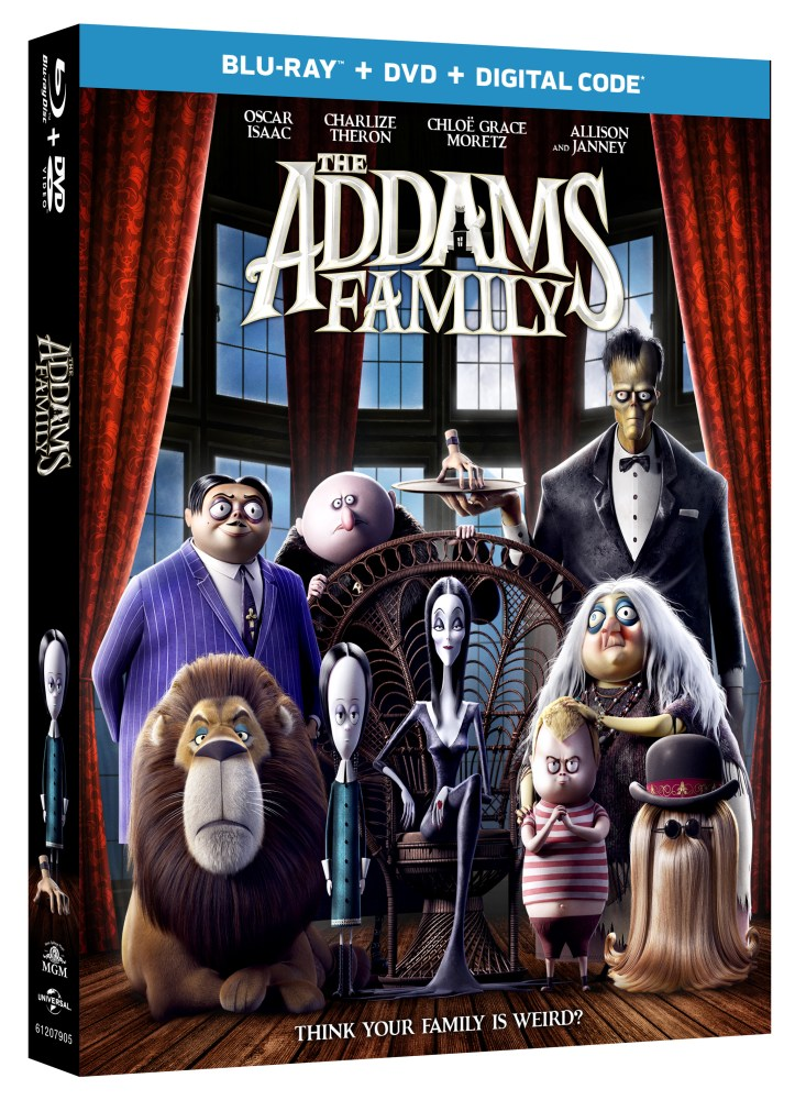 The Addams Family Blu-ray combo pack