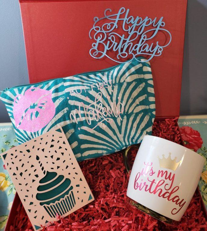 Cricut Joy birthday ideas
