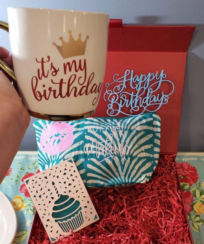 Cricut carfts - birthday mug
