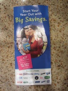 """""""Start Your Year Out with Big Savings"""" Publix coupons + scenarios"""