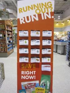 Running Out/Run In Publix Coupon Scenarios