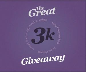 Blog Friends 3K Giveaway