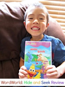 Hide and Seek WordWorld DVD Review + GIVEAWAY