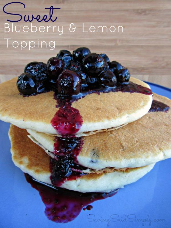 sweet-blueberry -lemon-topping