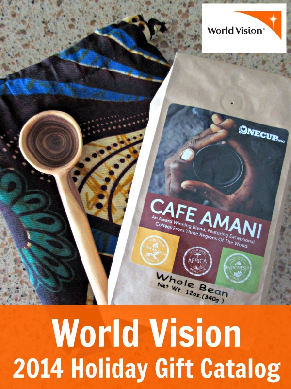World vision holiday gift catalog coffee set