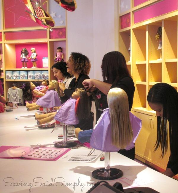 American girl orlando hair salon