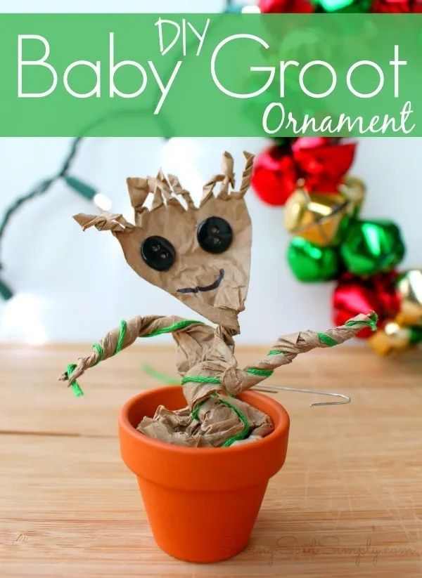Diy baby Groot ornament