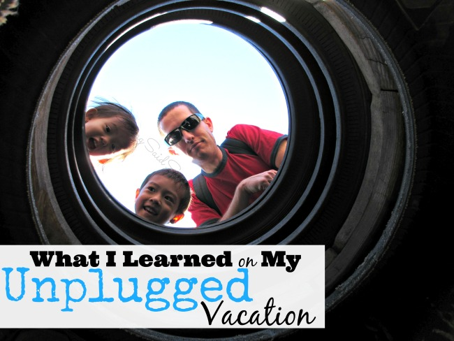 Unplugged vacation lessons
