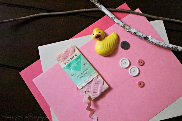 EasyValentines day kids craft