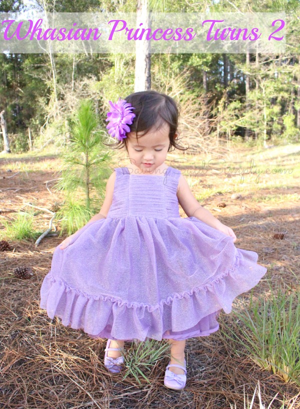 Princess photo shoot 2 year old