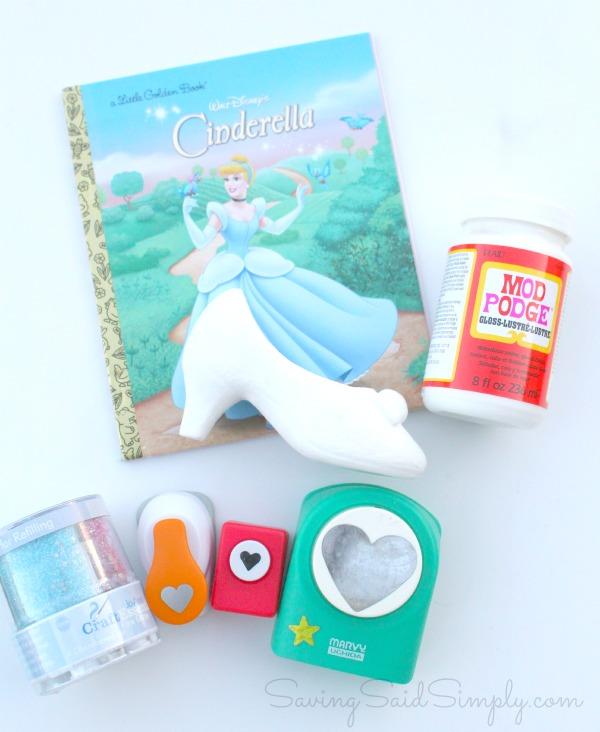Cinderella craft steps