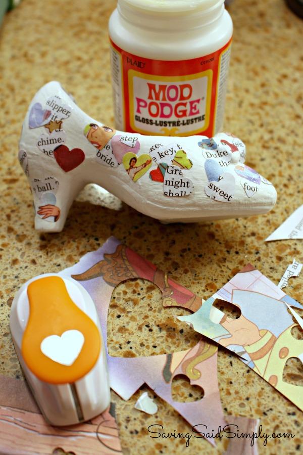 Cinderella craft tutorial