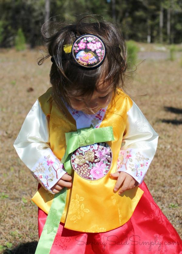 Korean kids hanbok