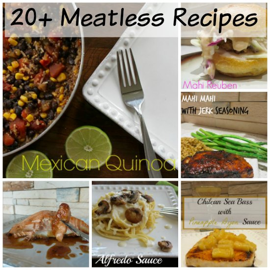 Meatless recipe round up