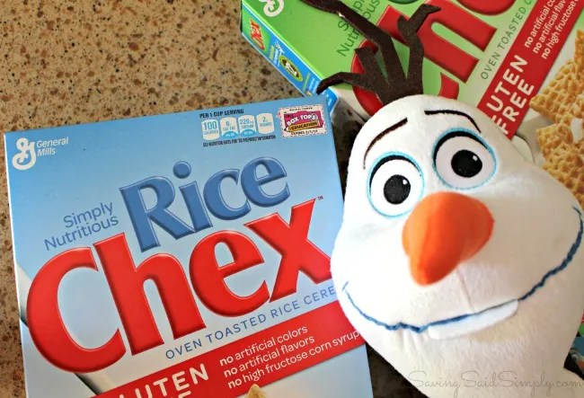 Chex mix recipe Olaf