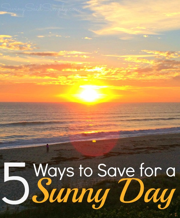 How to save sunny day