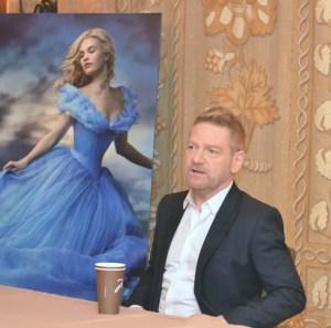 Kenneth Branagh Cinderella Interview | Hammers to Glass Slippers #CinderellaEvent
