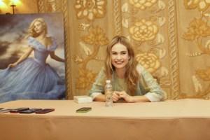 Lily James Cinderella Interview | A Princess Makeover #CinderellaEvent
