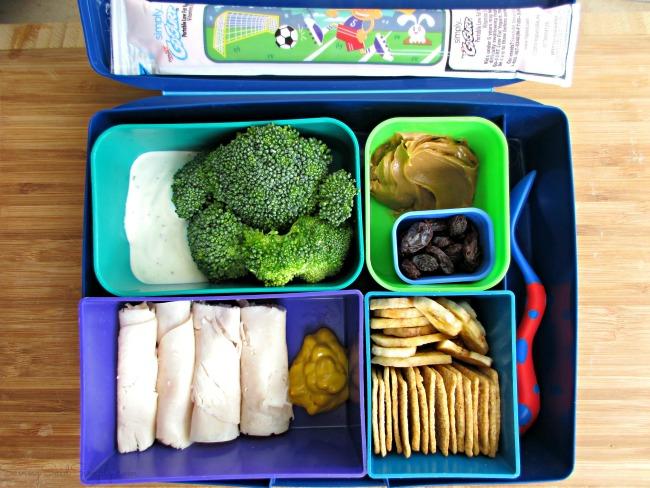 Dip lunchbox bento