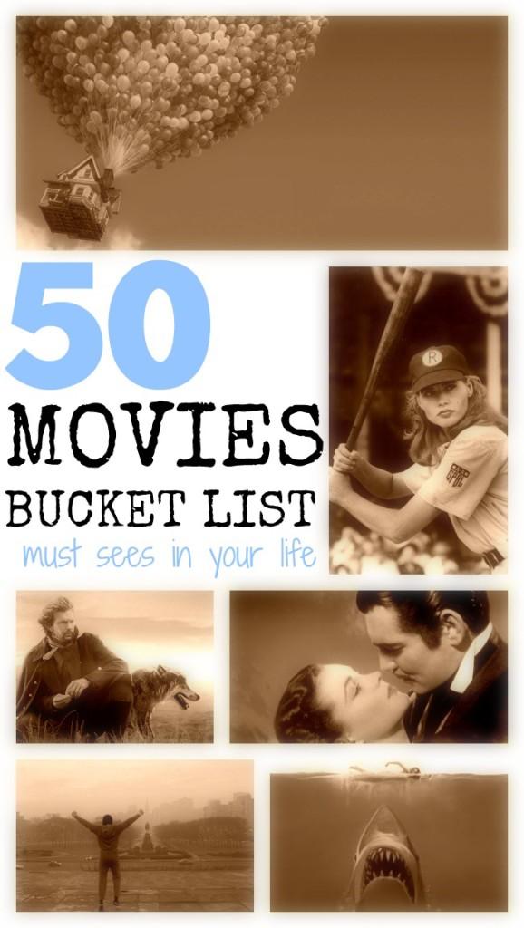 Movie bucket list summer challenge
