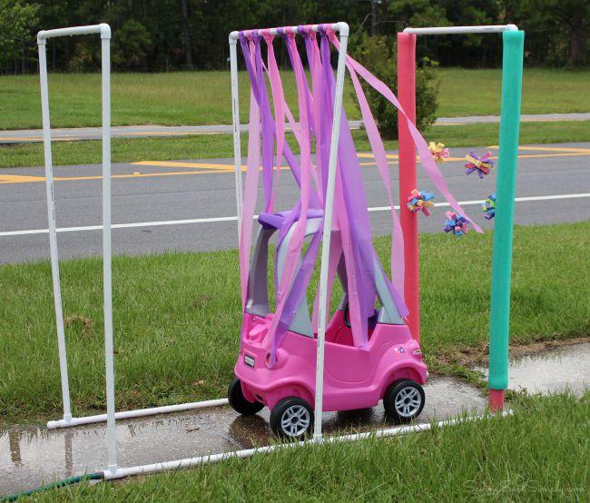 Easy kid car wash