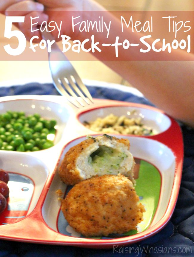 Easy recipes for school nights
