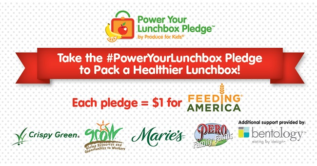 Power your lunchbox pledge