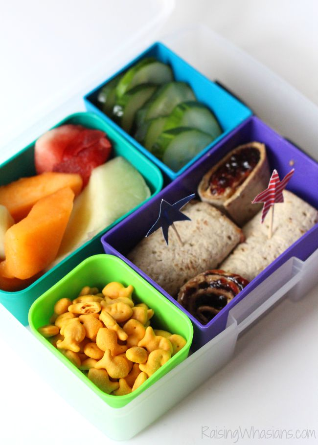 Simple bento box lunch ideas