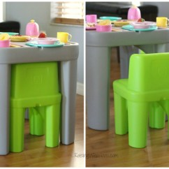Step 2 Chair Outside Lawn Chairs Ultimate Toddler Tea Party Ideas Raising Whasians Step2 Mighty My Size Table Review
