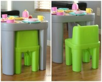 Step2 Table And Chair Set & Step2 New Traditions Kids#039 ...