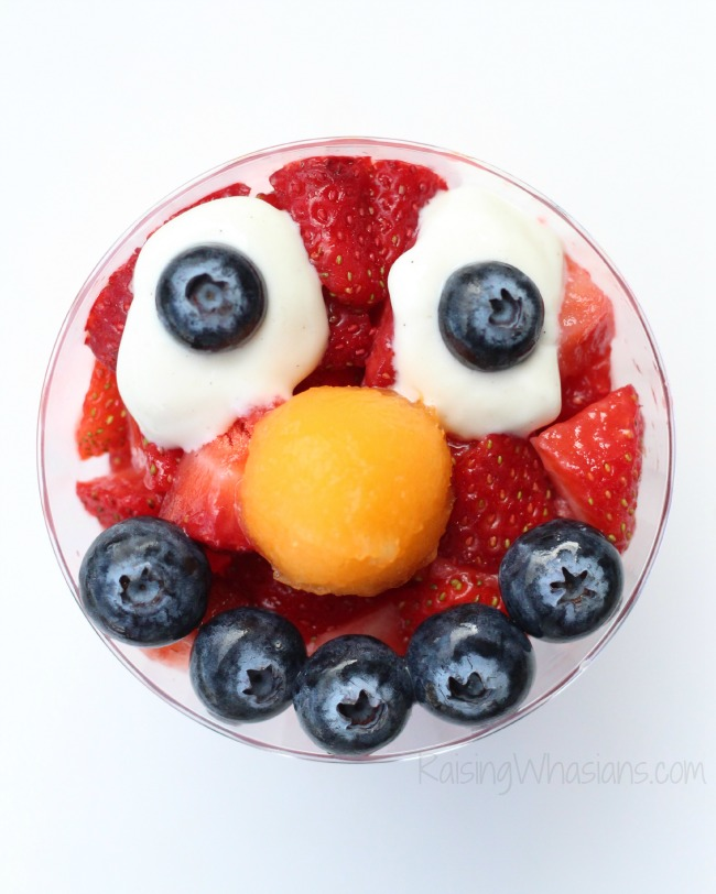 Elmo snack idea kids