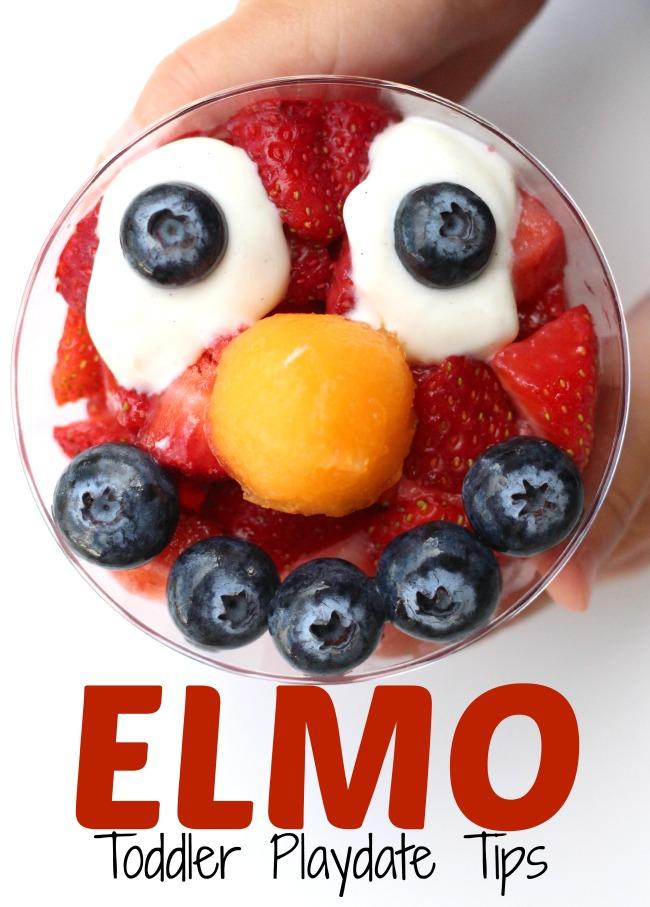 Elmo toddler playdate tips