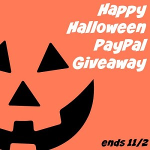 Happy Halloween PayPal Giveaway