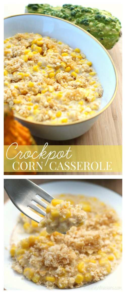 Make ahead corn casserole Crockpot Corn Casserole Recipe + Thanksgiving Prep Tips | Make ahead easy crock pot corn casserole recipe + Thanksgiving prep tips for easy meal planning - This slow cooker corn casserole recipe is perfect as a time saving dish for any occasion - #Recipe #SlowCookerRecipe #MealPlanning