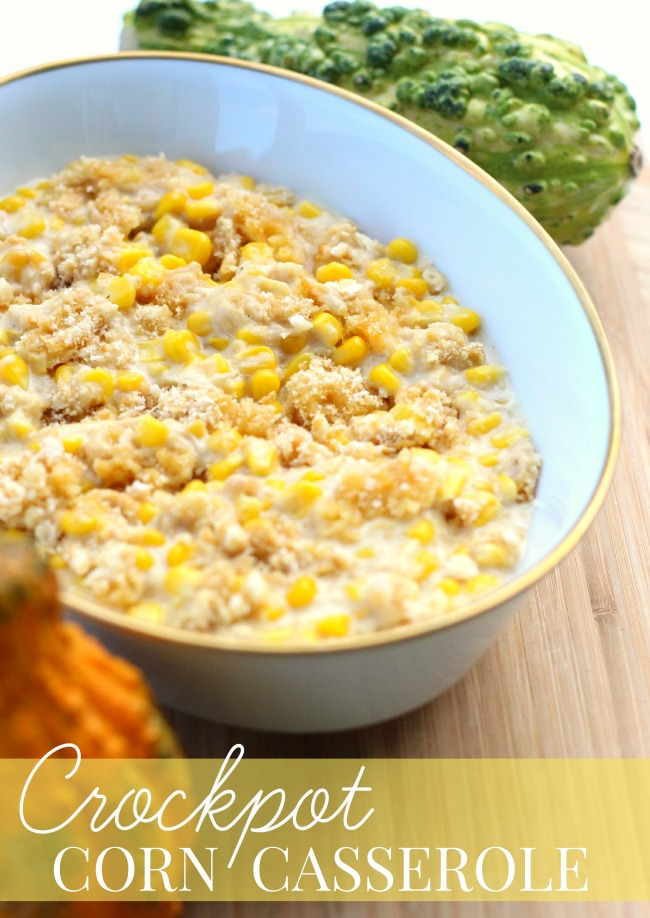 Crockpot corn casserole Make ahead corn casserole Crockpot Corn Casserole Recipe + Thanksgiving Prep Tips | Make ahead easy crock pot corn casserole recipe + Thanksgiving prep tips for easy meal planning - This slow cooker corn casserole recipe is perfect as a time saving dish for any occasion - #Recipe #SlowCookerRecipe #MealPlanning