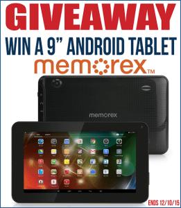 Memorex Android Tablet Giveaway