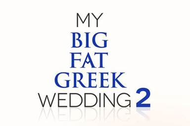 My big fat greek wedding 2 logo