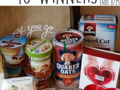Quaker camera prize pack giveaway