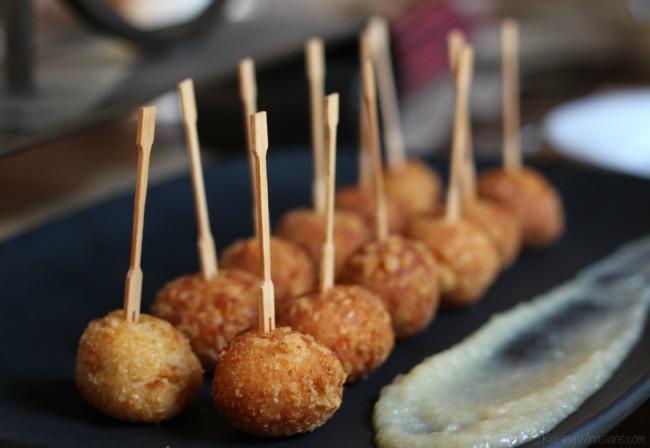 Ritz potato balls