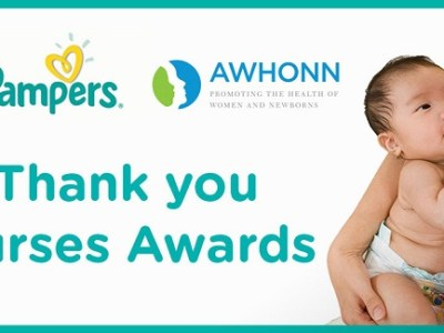 Thank you nurse awards pampers