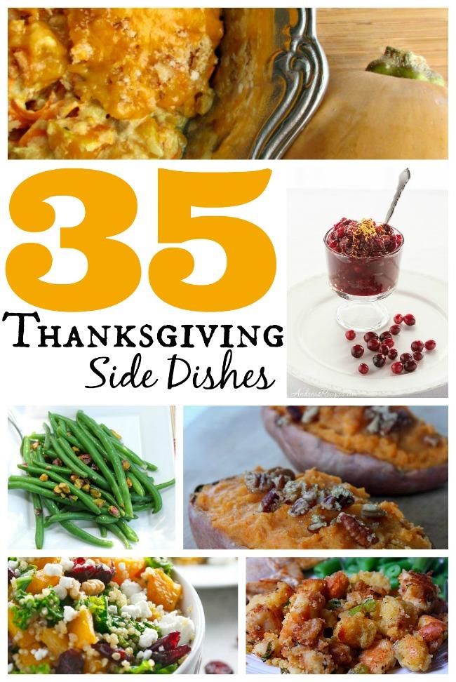 Thanksgiving side dish recipe round up