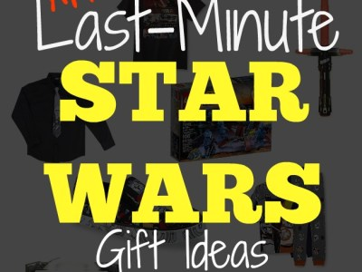 Addordable last minute star wars gift ideas at Kmart