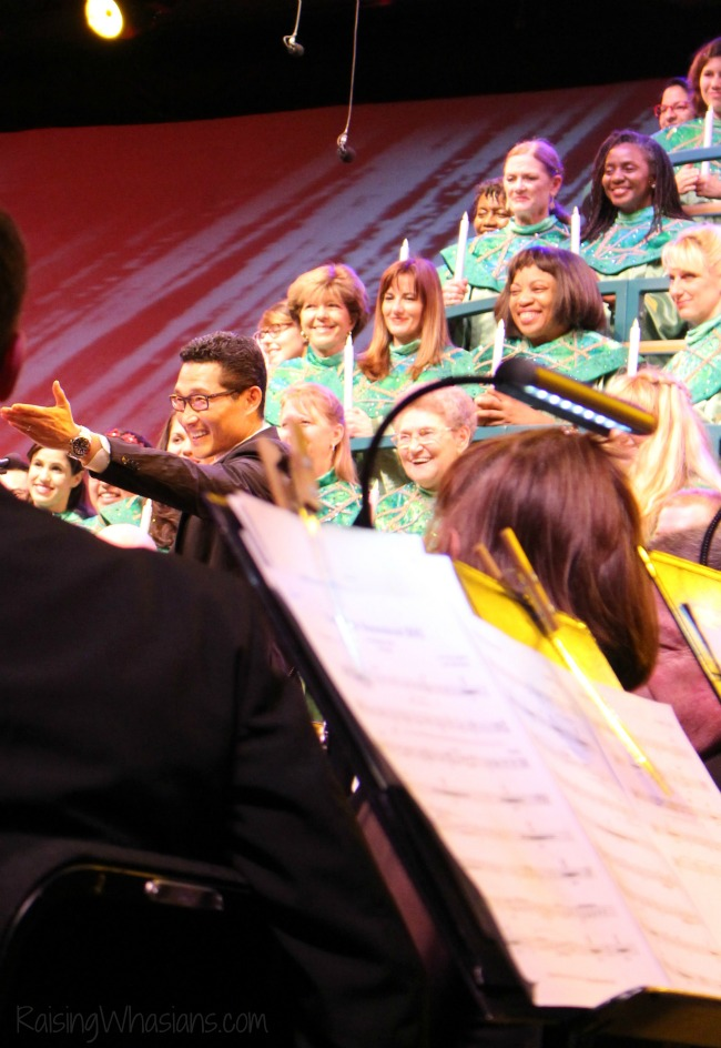 Daniel Dae Kim Epcot candlelight processional