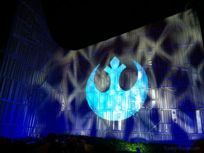 Disneyland seasons of the force