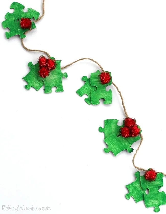 Holly kids craft