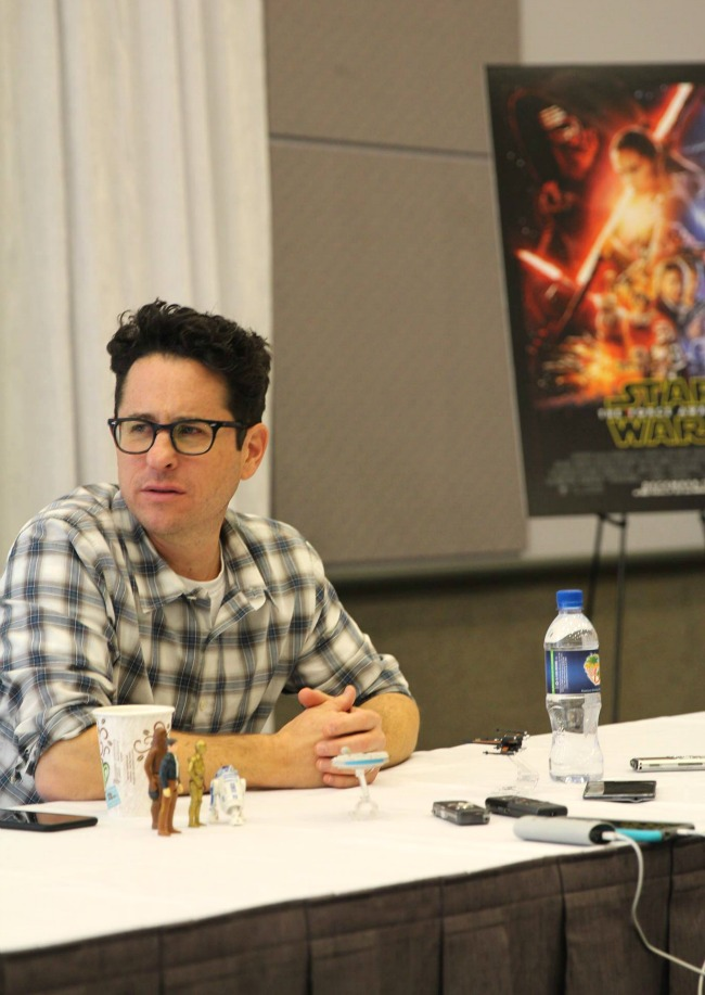 JJ Abrams the force awakens interview