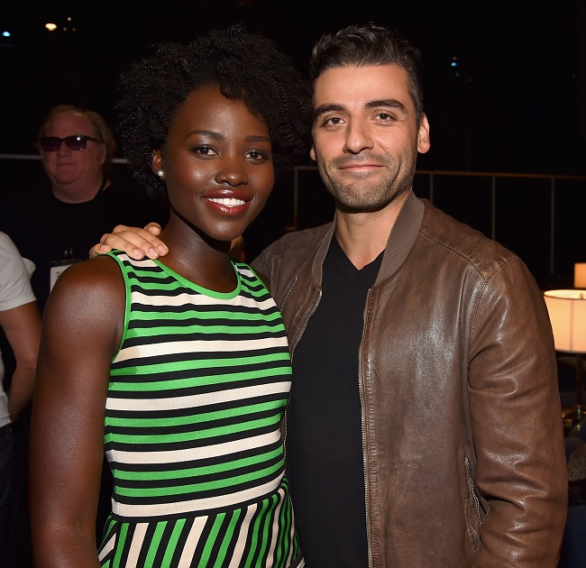 Lupita Oscar Issac interview star wars the force awakens